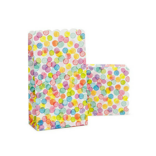 Colorful Confetti Treat Bags