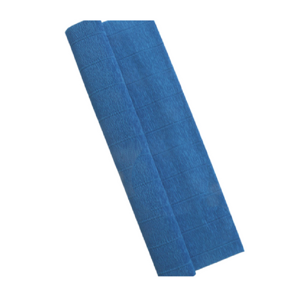 Blue Crepe Paper Table Runner