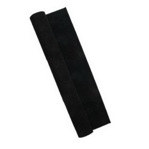 Black Crepe Paper Table Runner