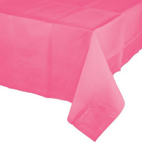 Cotton Candy Pink Tablecloth