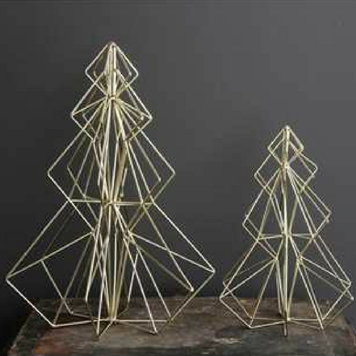 Wire Christmas Tree.Wire Christmas Trees