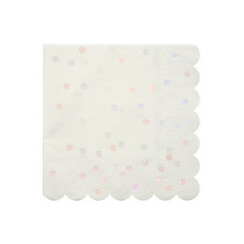 Iridescent Dotted Napkins