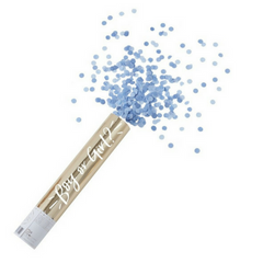 gender reveal confetti cannon for boy