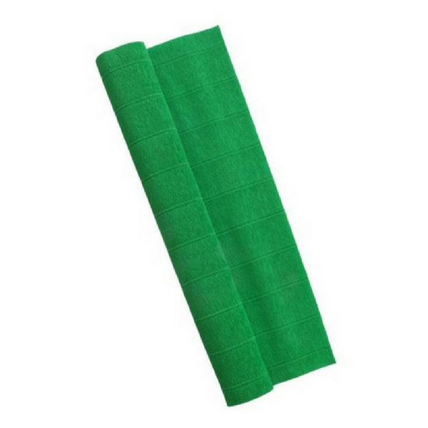 Green Crepe Paper Table Runner