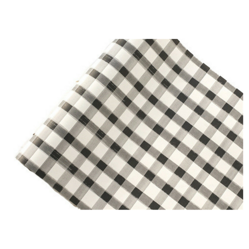 Black Gingham Table Runner