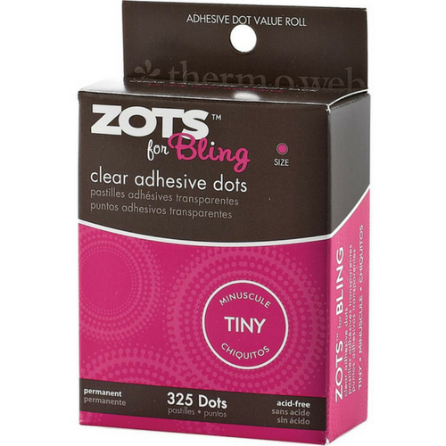 Zots-Clear Adhesive Glue Dots