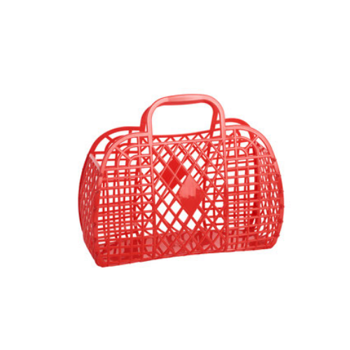 Small Red Jelly Handbags