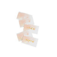 Blush Watercolor Place Cards
