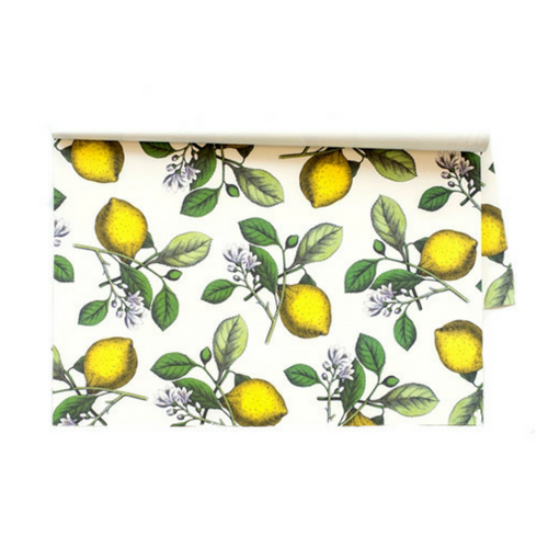 Lemon Paper Placemats