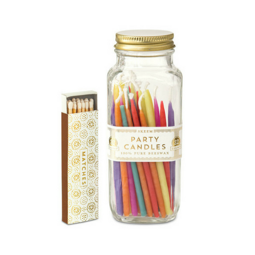 Party Candles - Multi Colored