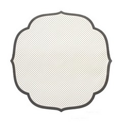 Medallion Dotted Paper Placemats