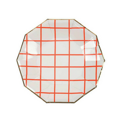 Coral Grid Plates