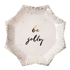 Be Jolly Christmas Plates