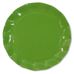 Meadow Green Petal Plates