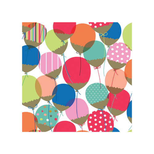 Birthday Balloon Gift Wrap