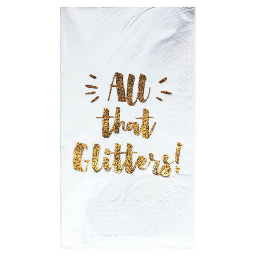 """All That Glitters!"" Guest Napkins"