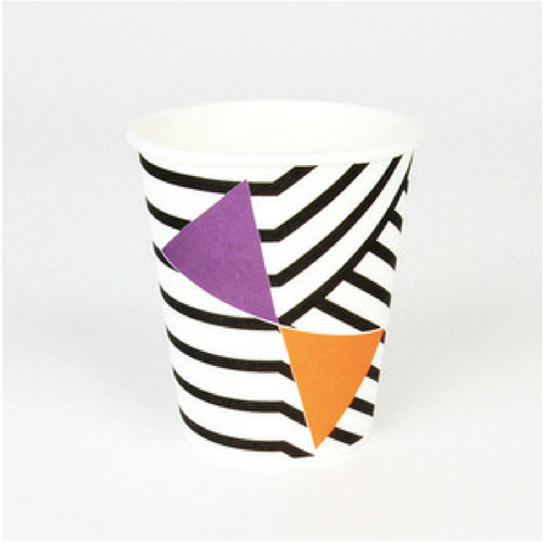 Geometric Patterned Cups