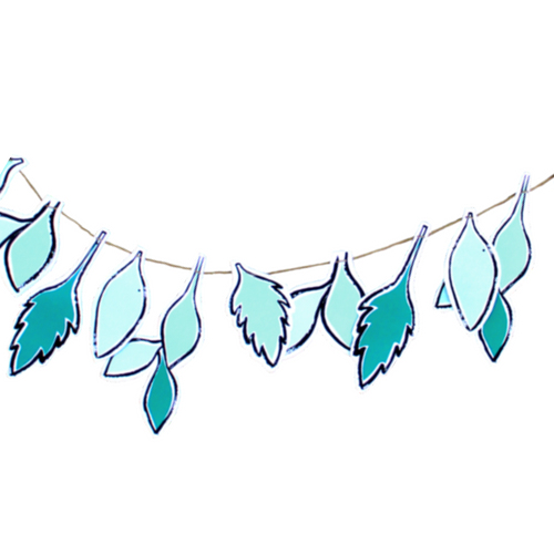 Hanging Leaves Garland