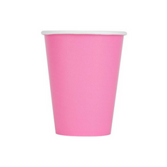 Cotton Candy Pink Cups
