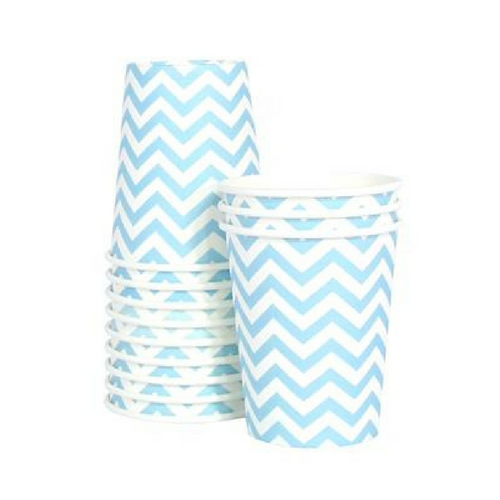 Chevron Blue Cup