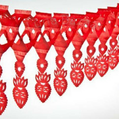 Sacred Heart Paper Garland
