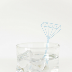Diamond Drink Stirrers