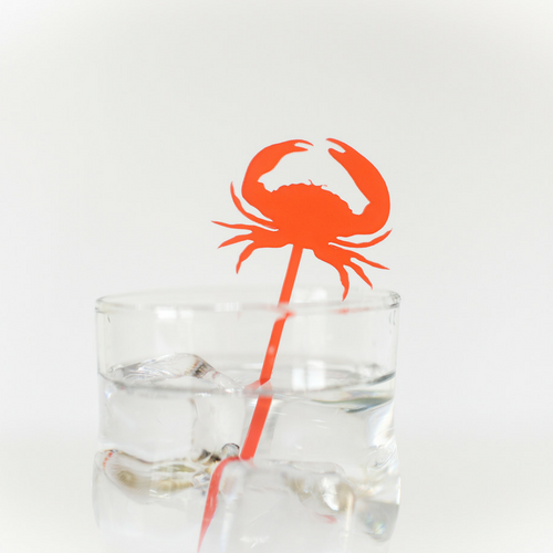Crab Drink Stirrers