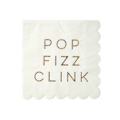 Pop, Fizz, Clink Napkins