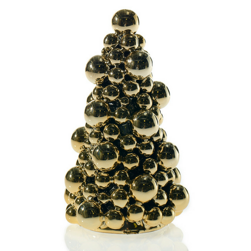 Gold Bauble Tree