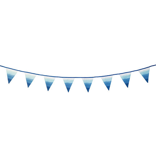 Summer Blues Fabric Bunting