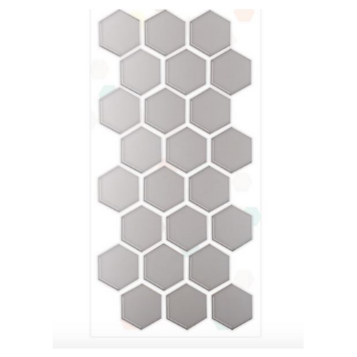 Adhesive Hexagon Mirror Shapes