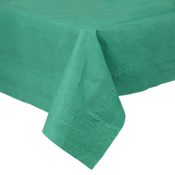 Dark Green Tablecloth