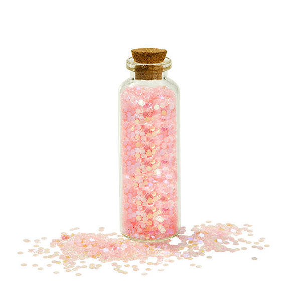 Pink Sparkly Scatter