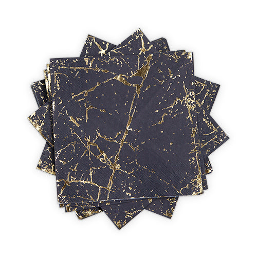 Gold Speckle Dinner Napkins