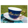 funny booze tea cup and saucer