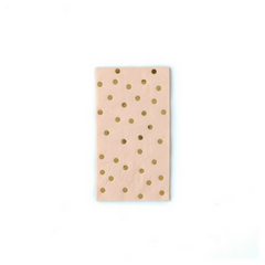 Gold Foil Dot Napkins