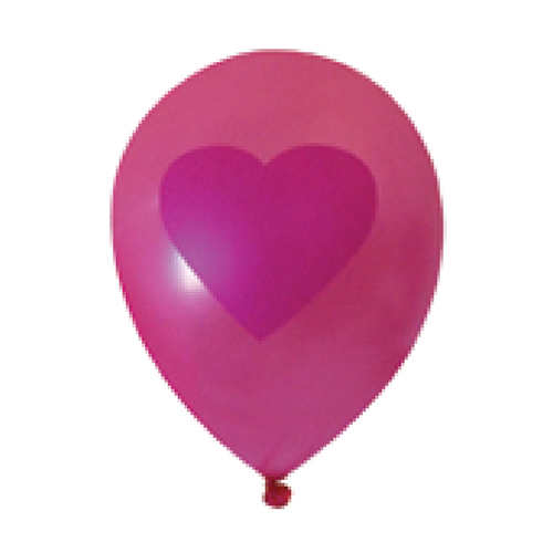 Red Heart Pink Balloon