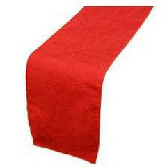 Red Table Runner