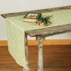 Yellow Calico Table Runner
