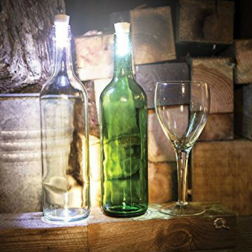 Glowing Wine Bottle Stoppers