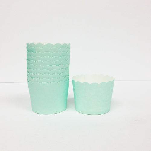 Mint Baking Cups