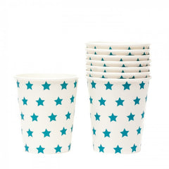 Blue Star Cups