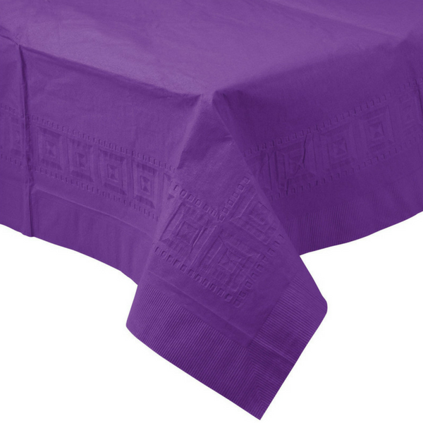 Bright Purple Tablecloth