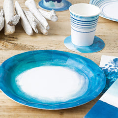 Summer Blues Plates