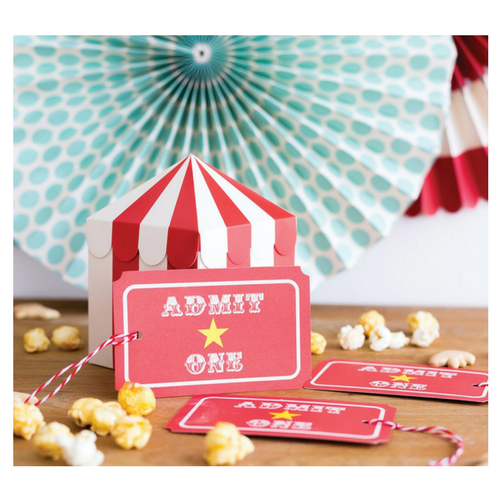 'Admit One' Ticket Tags