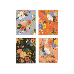 Assorted Lively Floral Note Cards