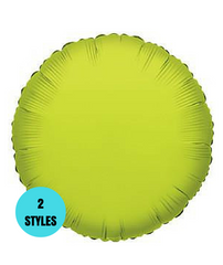 "9"" Round Foil Balloons"