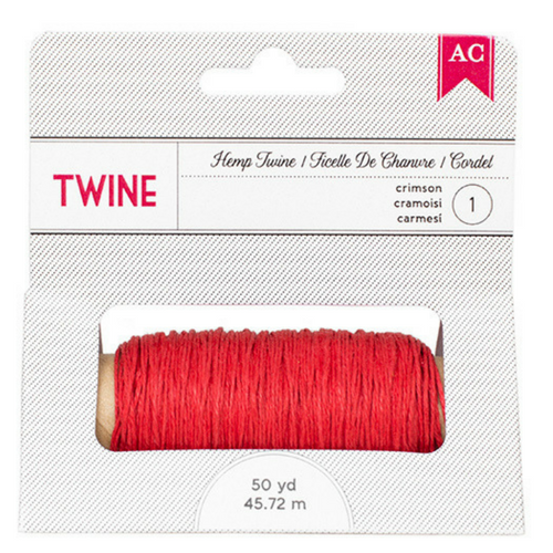 Bakers or Hemp Twine - Pink