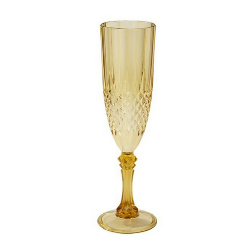 Gold Champagne Glass
