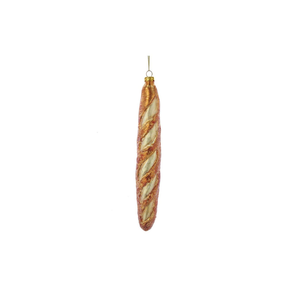 Jollity & Co, Ornament, Baguette Ornament, Holiday Ornament, Food Ornament